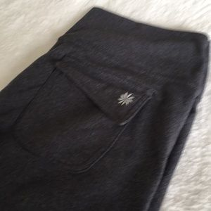 Athleta size LT pants thick waistband